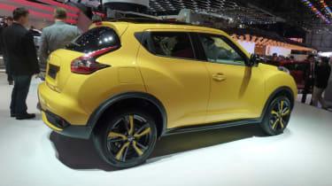 Facelift Nissan Juke rear