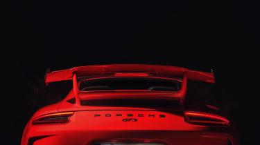2017 Porsche 911 GT3 - rear spoiler