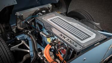 Jaguar E-type Zero motor