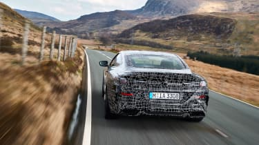 BMW 8-series prototype review - rear