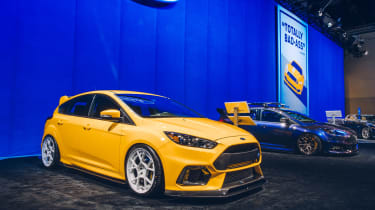 SEMA 2017 - Ford Orange RS