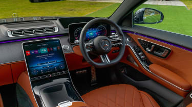 Mercedes S-class – dash