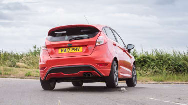 Ford Fiesta ST five-door - Rear