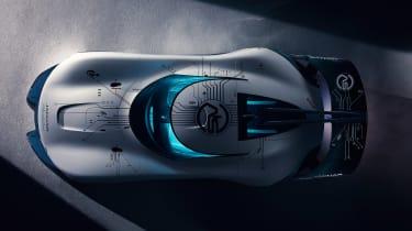 Jaguar Vision Gran Turismo SV Concept - top