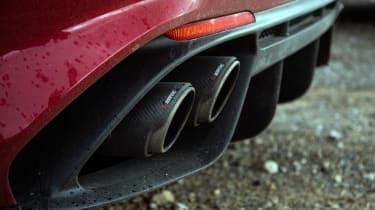 Alfa Romeo Giulia Quadrifoglio review LCI – pipes