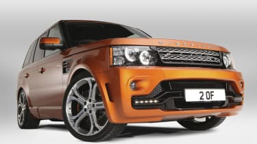 Overfinch launches 575bhp Range Rover Sport