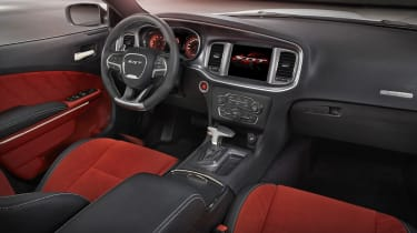 Dodge Charger SRT Hellcat interior