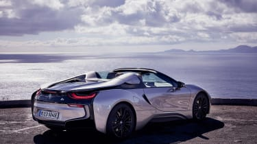 BMW i8 Roadster - rear quarter