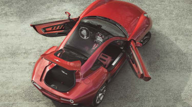 St James's Concours: Alfa Romeo Disco Volante 8C