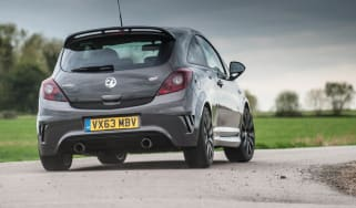 Vauxhall Corsa VXR Clubsport rear cornering