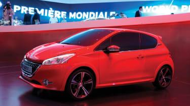Geneva 2012: Peugeot 208 GTI