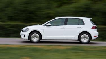 Volkswagen e-Golf - side