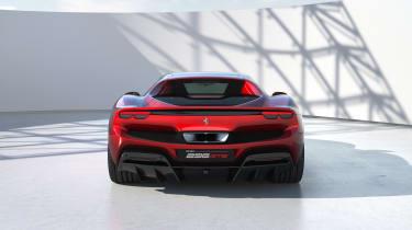 2022 Ferrari 296 GTB – rear