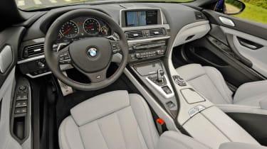 2012 BMW M6 Convertible interior dashboard
