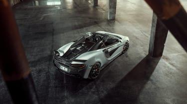 Novitec McLaren 570S Spider – top shot