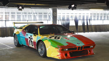 BMW Art Car - Warhol