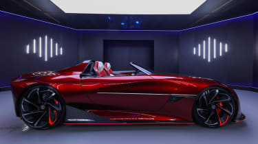 MG Cyberster Roadster concept – side