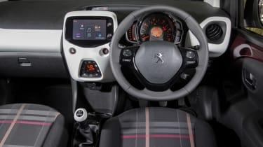 Peugeot 108 - interior