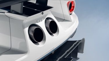 Ford GT Mk II exhausts