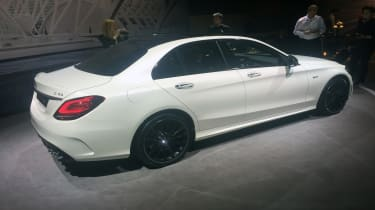 2018 Mercedes-AMG C43 saloon – side