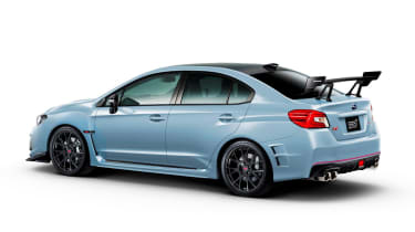 Subaru STI S208 - rear