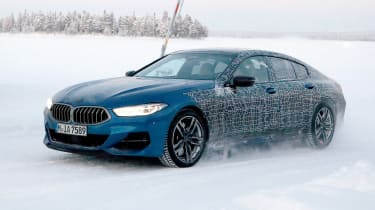 BMW 8 Series Gran Coupe spies