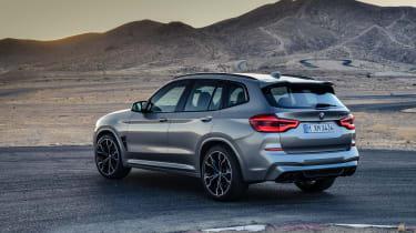 BMW X3M - rear quarter