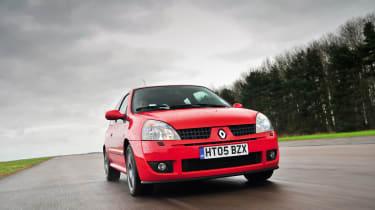Renault Sport Clio 182 Trophy – seats
