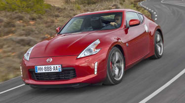 2013 Nissan 370Z red front