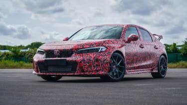 2022 Honda Civic Type R prototype – quarter