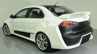 Proton Jebat - Mitsubishi Evo X