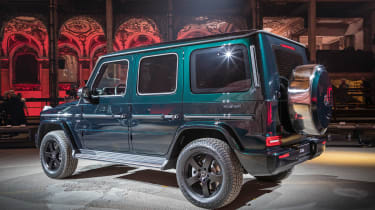 Mercedes G-Class show - rear quarter