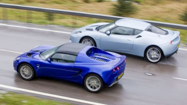 Lotus Evora and Elise