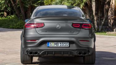 2019 Mercedes-AMG GLC 43 coupe rear