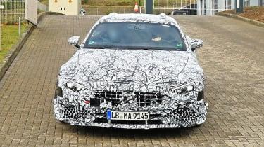 Mercedes SL spy - nose