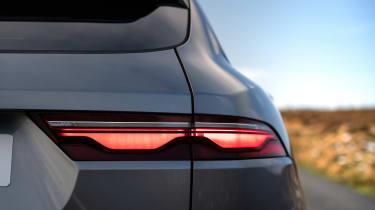 Jaguar F Pace 2021 review - P400 rear light