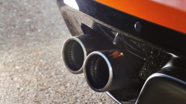 Jaguar F-type V8 S exhaust