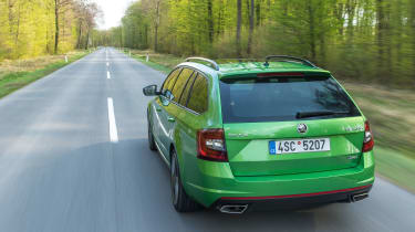 Skoda Octavia vRS Estate - Rear