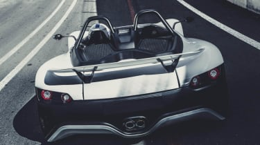 VUHL 05 sports car rear
