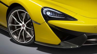 McLaren 570S Spider - headlights
