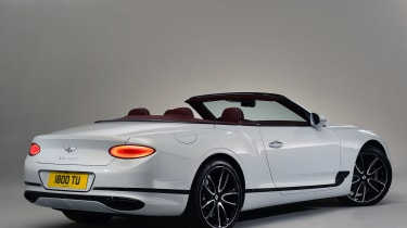 Bentley continental GT Convertible - rear