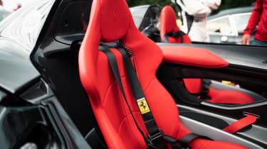 Ferrari Monza SP2 Goodwood FoS seats