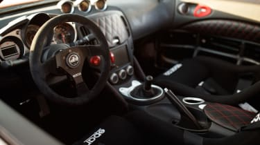 Nissan 370Z Project Clubsport 23 - interior