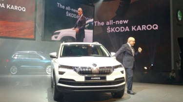 Karoq launch - front 3