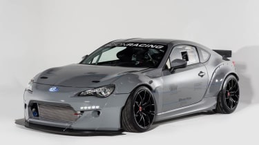 GReddy Performance x Scion Racing Drift FR-S: tuned Toyota GT86