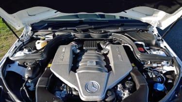 Mercedes C63 AMG Edition 507 6.2-litre V8 engine