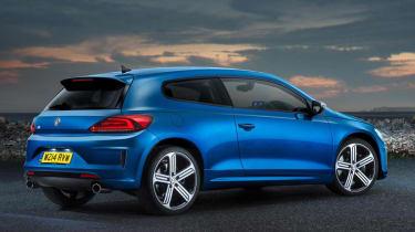 New VW Scirocco R blue