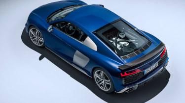 Audi R8 facelift - top