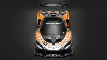 McLaren Senna GTR - top