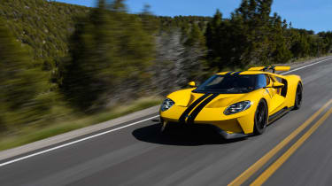 Ford GT - front tracking